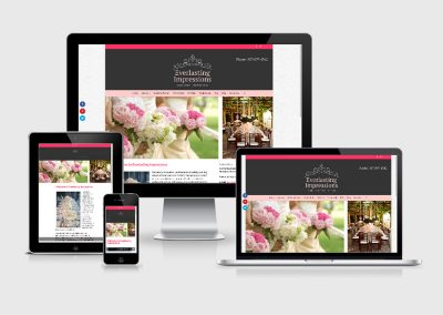 Wedding Planner Web Design | Calgary Canada