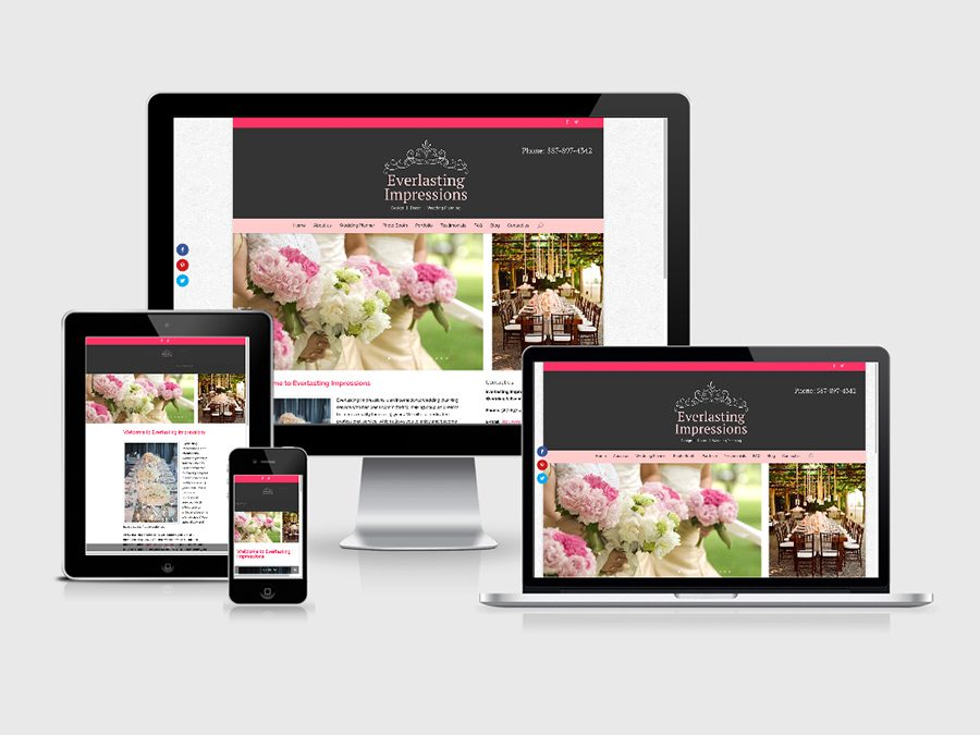 Wedding Planner Web Design