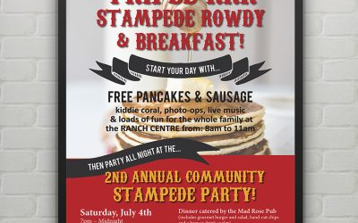Calgary Stampede Poster Design for RRROCA