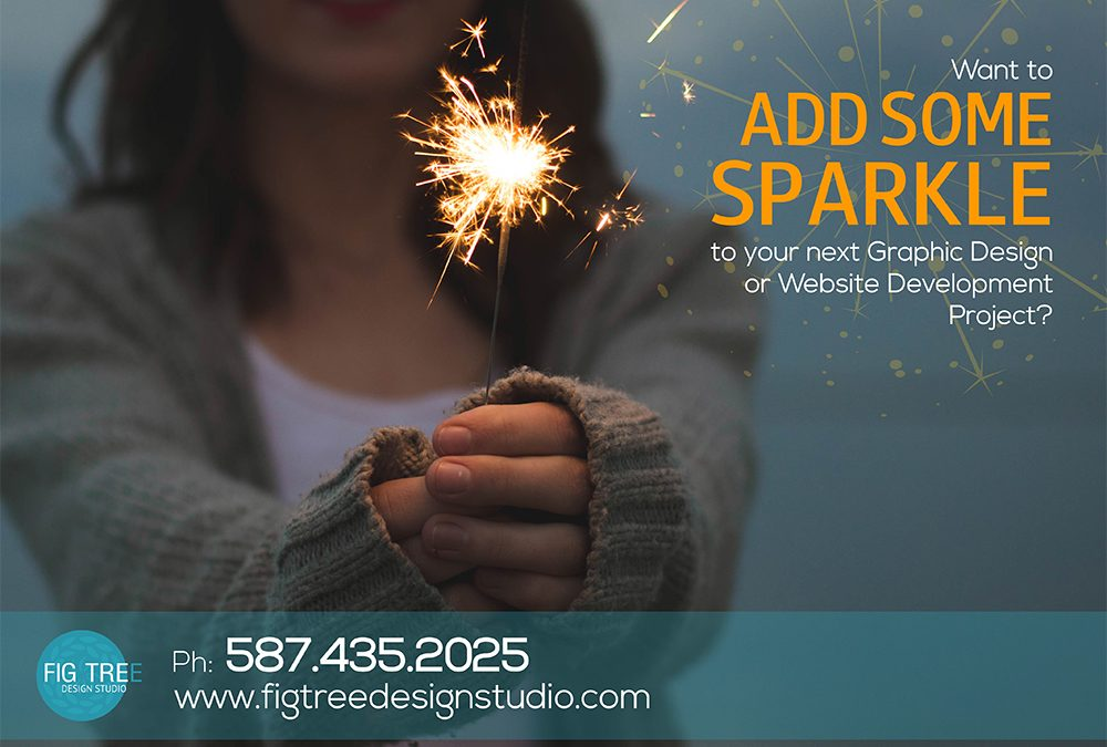 Add some SPARKLE to your next Web or Graphic Design Project!
