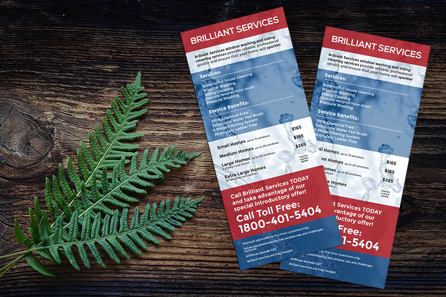Calgary Flyer & Rack Card Design
